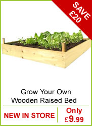Grow Your Own Wooden Raised Bed