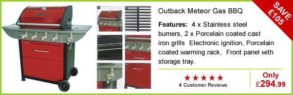 Outback Meteor Gas BBQ