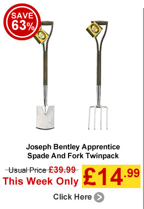 Joseph Bentley Apprentice Spade And Fork Twinpack